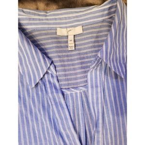 JOIE   Sehun Poplin Shirtdress